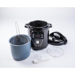 Robot Cocina Biochef Negra Teflon