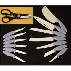Set Cuchillos Titanium